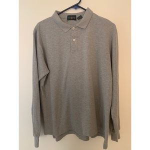 J. Crew Long Sleeve Polo Shirt